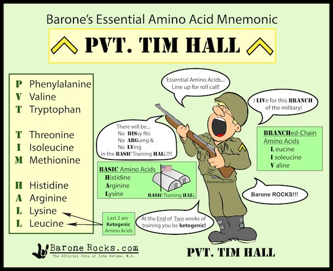 essential amino acid mnemonic